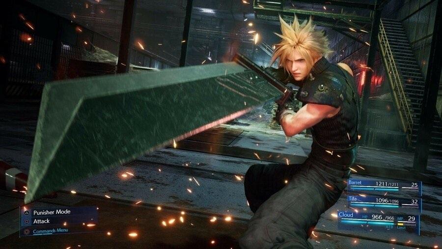 دموی بازی Final Fantasy VII Remake