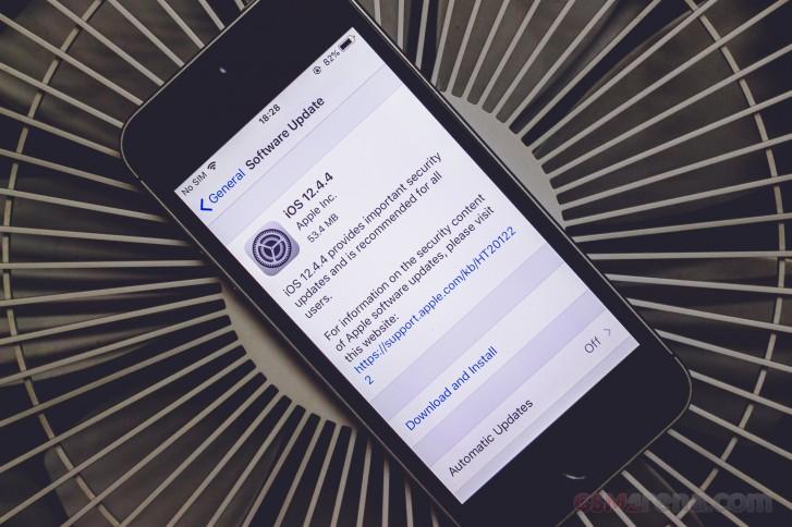 کدام محصولات اپل آپدیت iOS 12.4.4 را دریافت می کنند؟