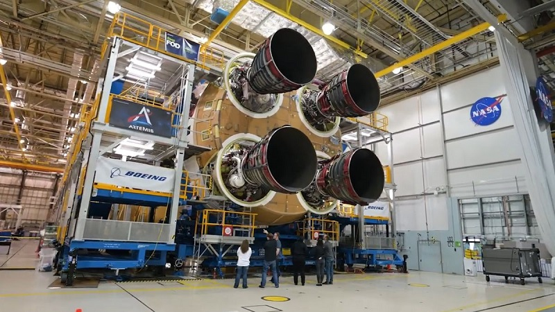 قدرتمندترین راکت جهان SLS ناسا