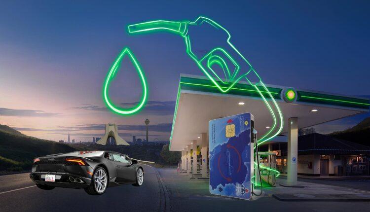 سوخت گیری بنزین