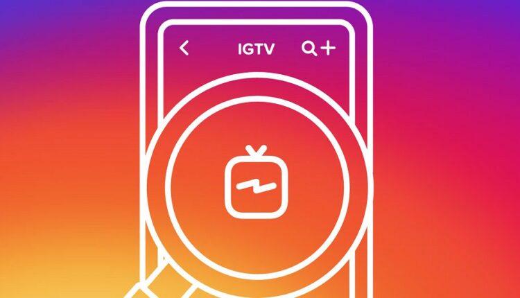 اینستاگرام دکمه IGTV