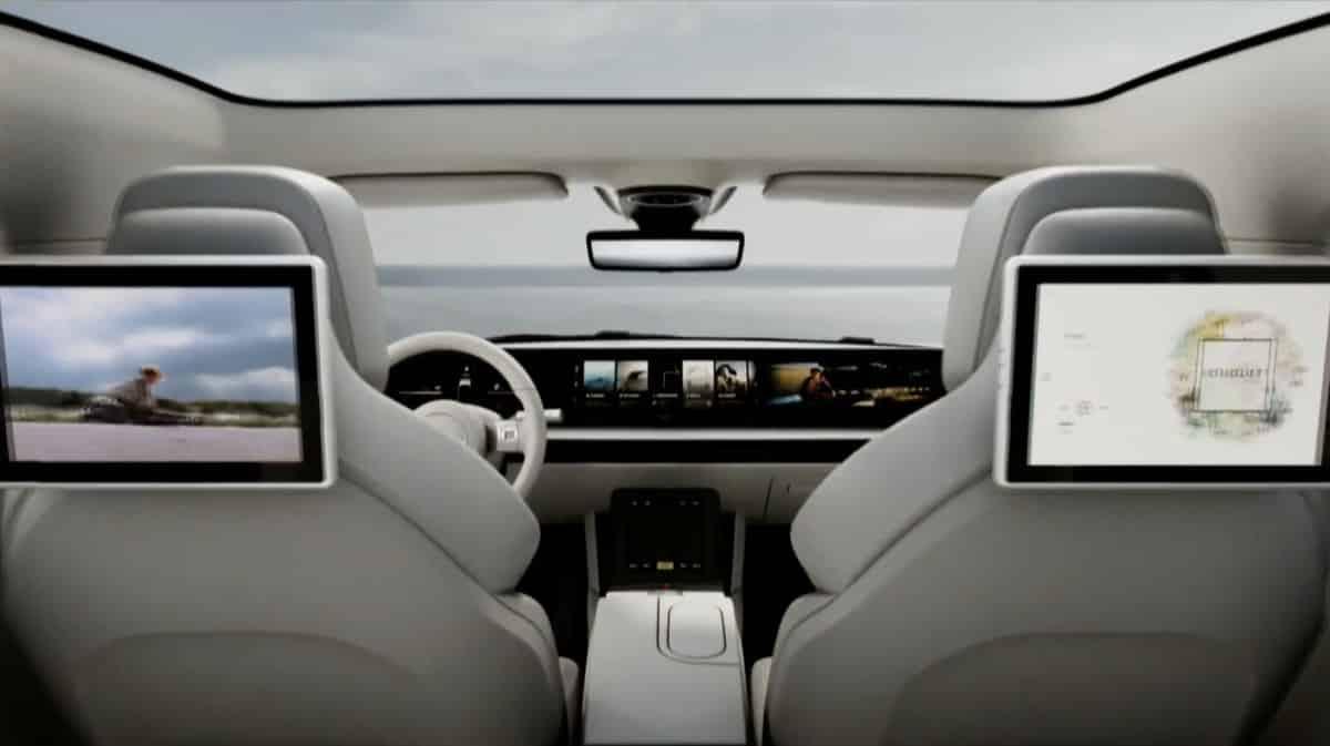 سونی Vision-S از راه رسید؛ خودروی سدان تمام الکتریکی – رسانه کلیک