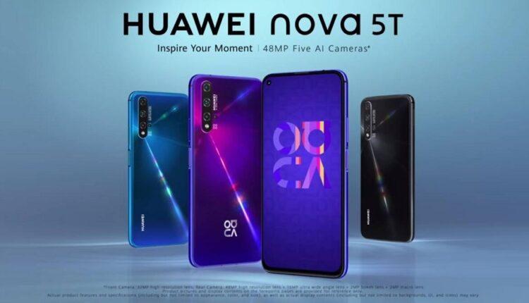 هواوی Huawei Nova 5T ایران