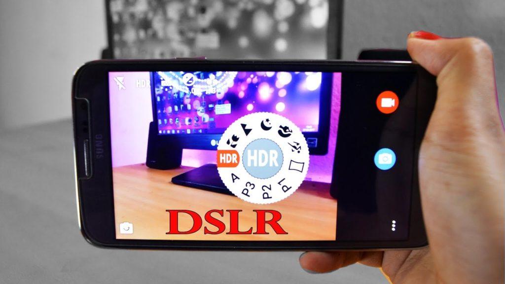 برنامه های DSLR