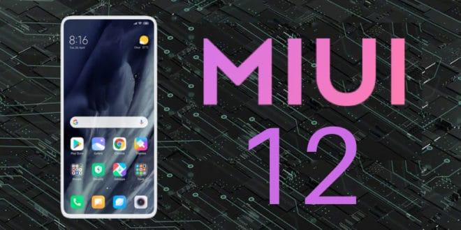 آپدیت رابط کاربری MIUI 12
