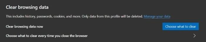 کش مرورگر Microsoft Edge