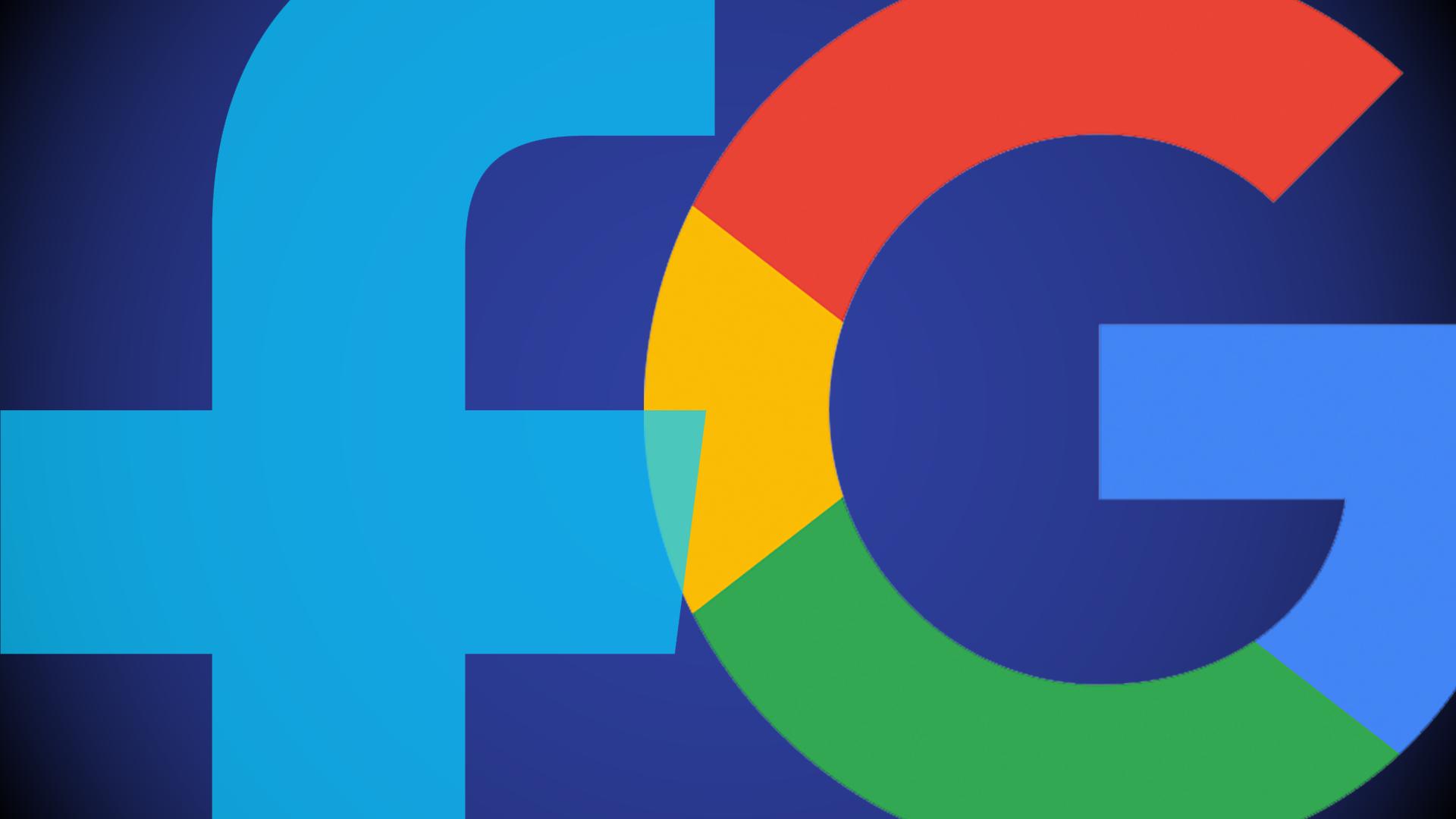 فیسبوک و گوگل