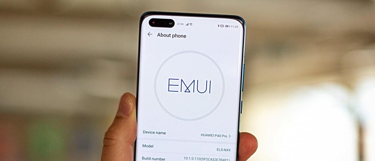 رابط کاربری EMUI 10.1