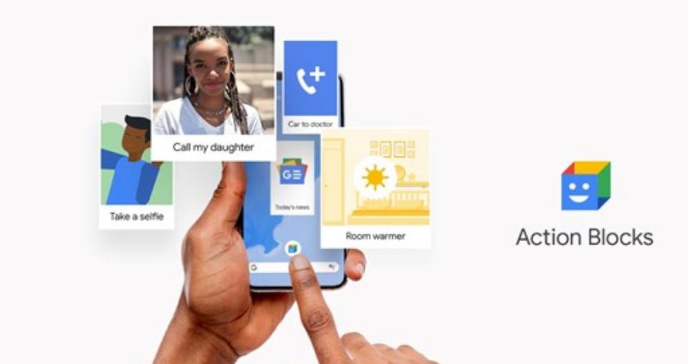 استفاده از اپلیکیشن Action Blocks دستیار گوگل برای دسترس پذیری