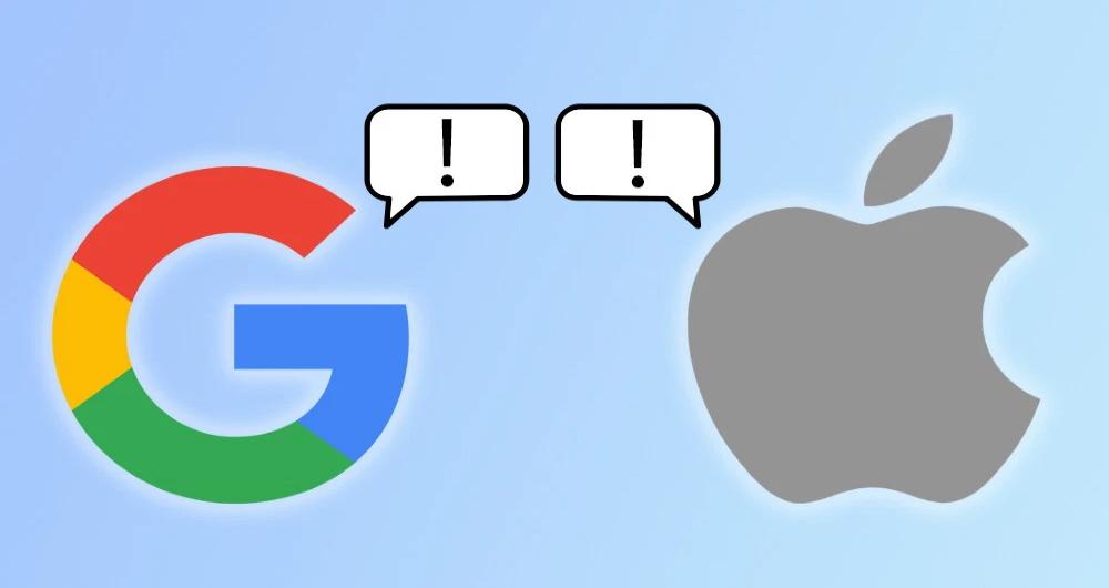 API مشترک گوگل و اپل