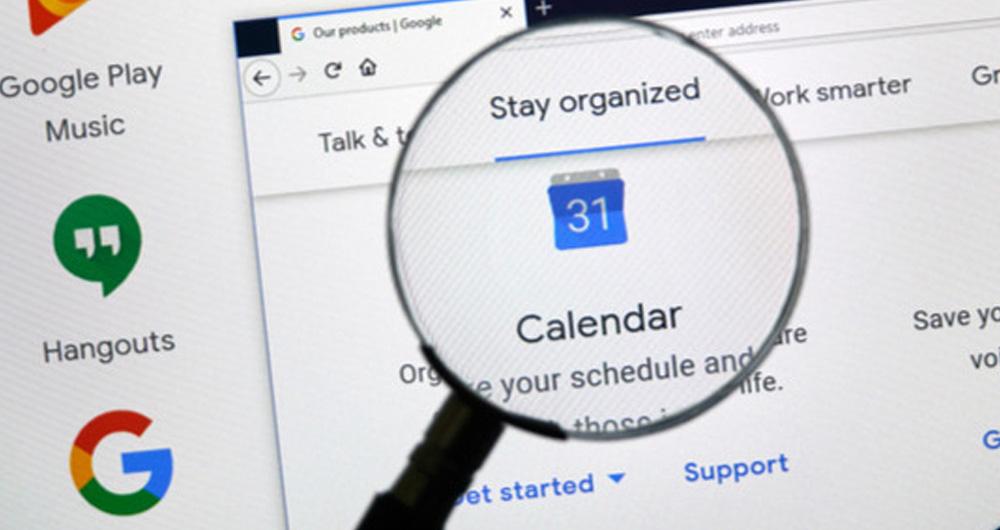 کلیدهای میانبر Google Calendar که کار شما را ساده تر می کنند