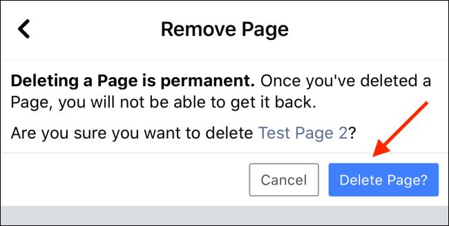 حذف یا مخفی کردن صفحات