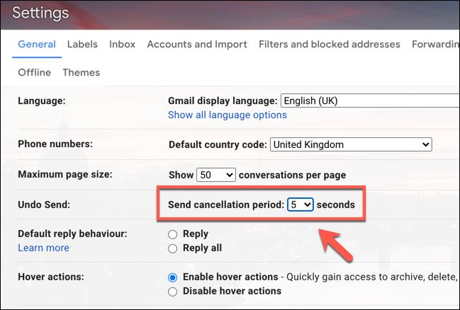 توقف ارسال ایمیل