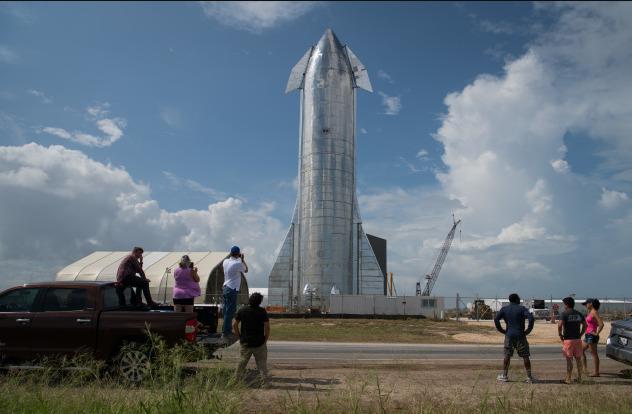 پرتابگر Starship شرکت SpaceX