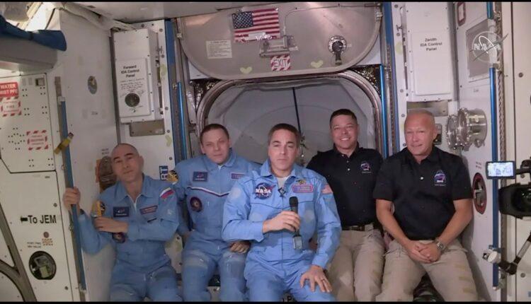 فضانوردان SpaceX