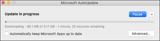 Manually Update