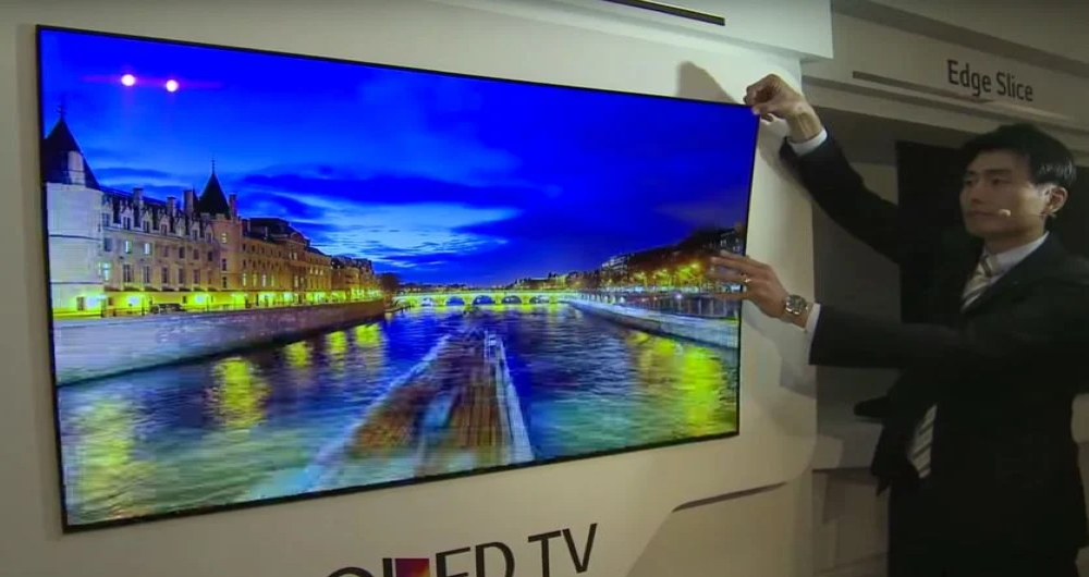 تلویزیونهای OLED ال جی