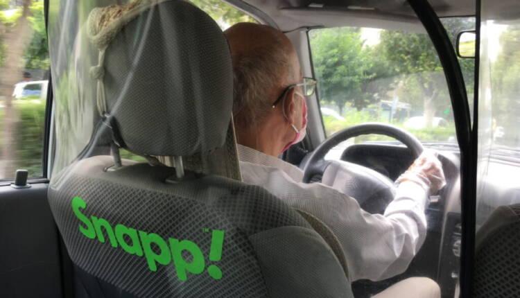 جداکننده فضای راننده و مسافر