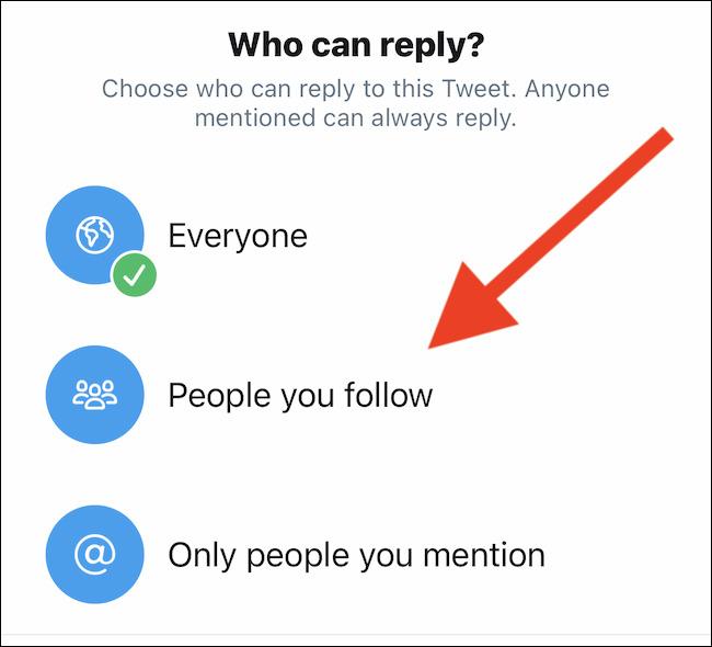 ریپلای کردن توییت