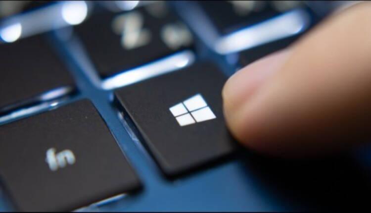 دکمه ویندوز روی کیبورد
