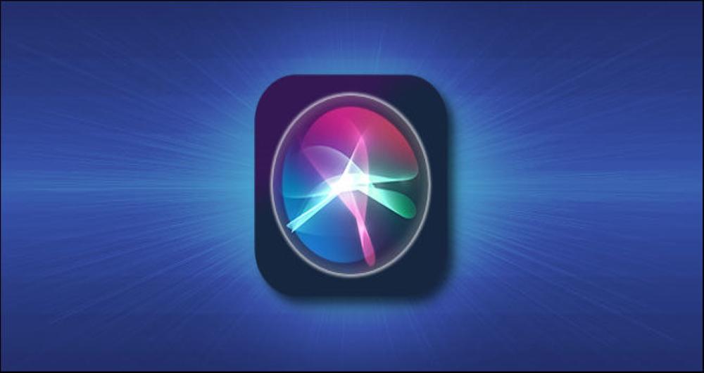تغییر صدای Siri