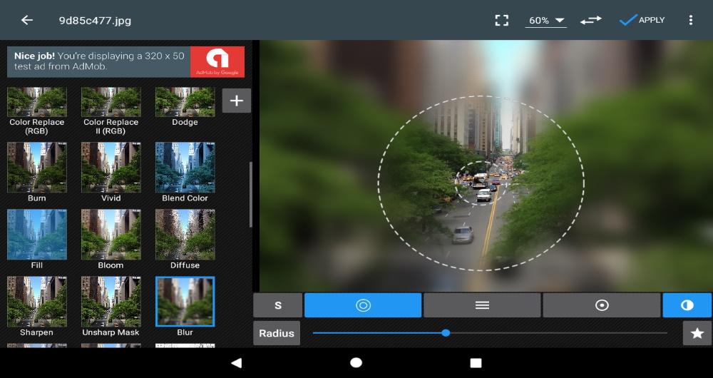 اپلیکیشن PhotoEditor - جایگزین فتوشاپ