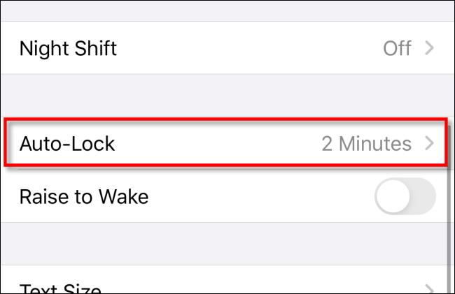 غیرفعال کردن قابلیت خاموش شدن خودکار صفحه نمایش آیفون