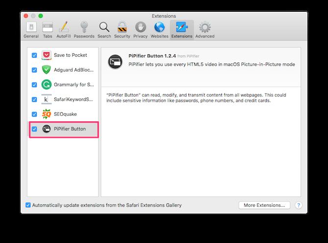 تنظیمات کاربردی مرورگر سافاری در سیستمعامل مک
