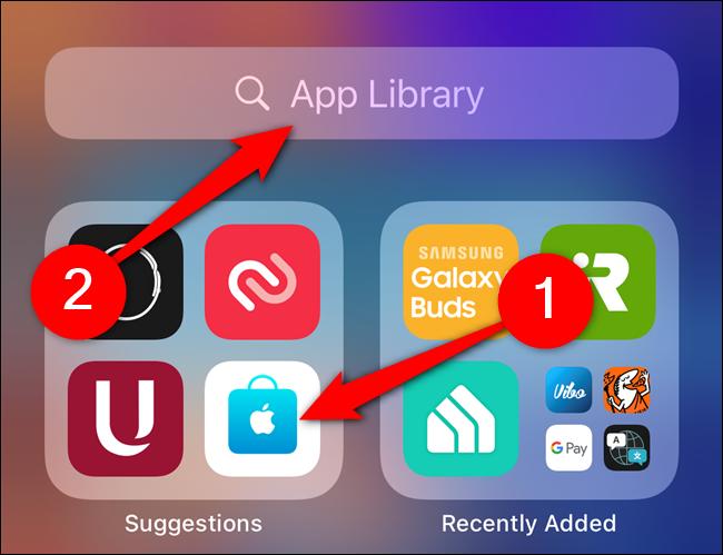 انتقال اپلیکیشنهای آیفون از صفحه Home به کتابخانه اپلیکیشنها