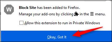 مسدود کردن دسترسی به یک وبسایت روی مرورگر فایرفاکس