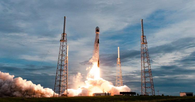 بازپرتاب موشک تقویت کننده Falcon 9