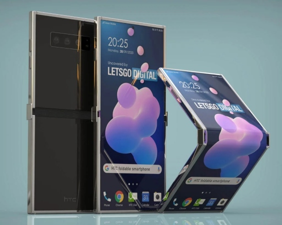 اولین گوشی تاشو HTC