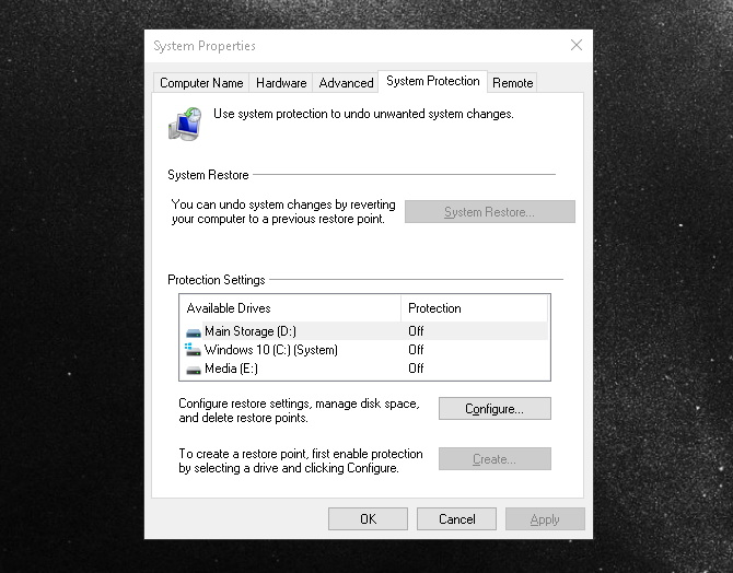 فایلهای سیستمی ویندوز