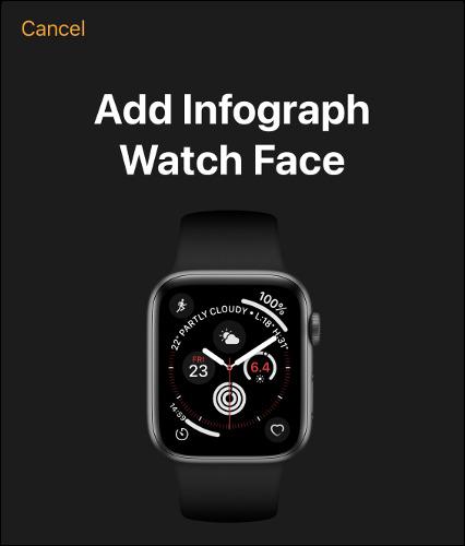 واچ فیس در ساعت هوشمند اپل