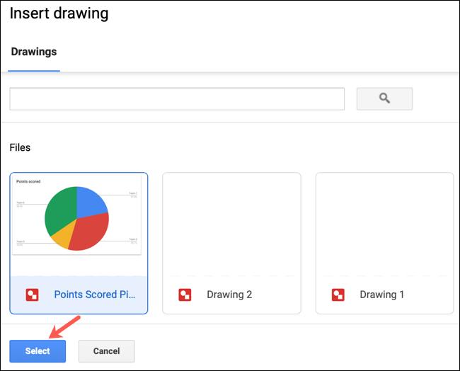 قابلیتهای Google Drawings