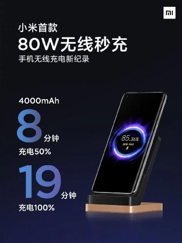 تکنولوژی شارژ بیسیم 80W