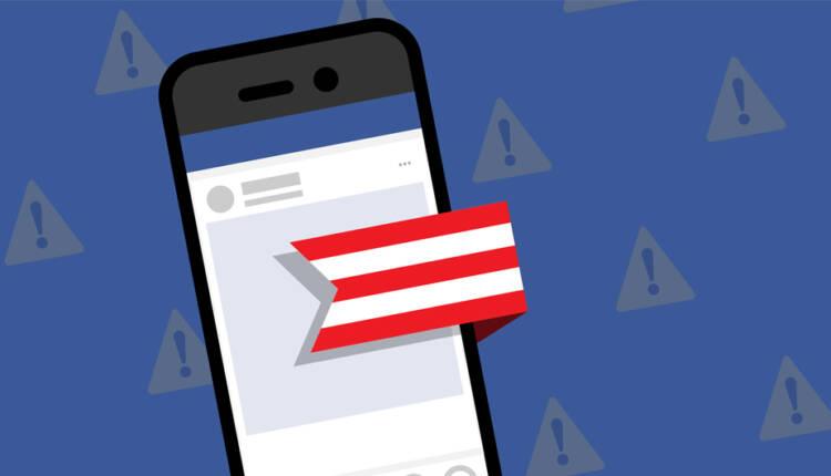 توقف نشر توصیه های سیاسی و اجتماعی در گروه های فیس بوک