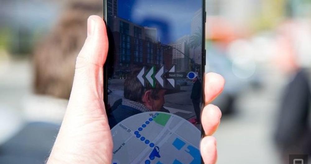بهبود ویژگی Live View در گوگل مپ