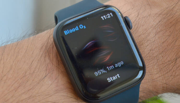 نحوه اندازه گیری سطح اکسیژن خون به وسیله اپل واچ