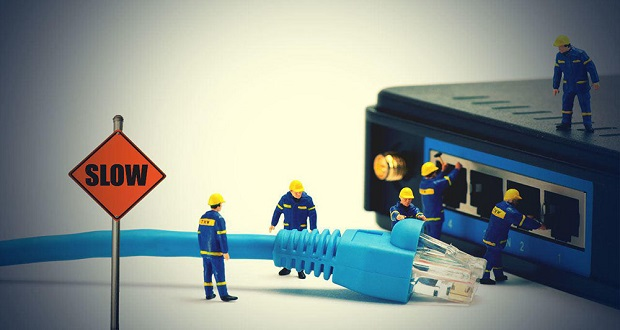 اختلال اینترنت در بعضی مناطق جنوب تهران