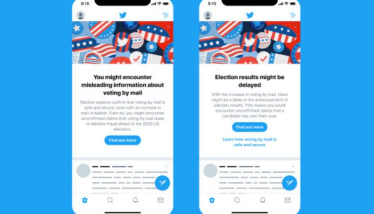 راهکار جدید توییتر برای مقابله با انتشار اطلاعات نادرست درباره انتخابات 2020