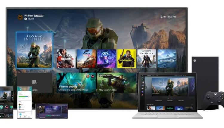 دسترسی به رابط کاربری جدید در بروزرسانی اکتبر Xbox One