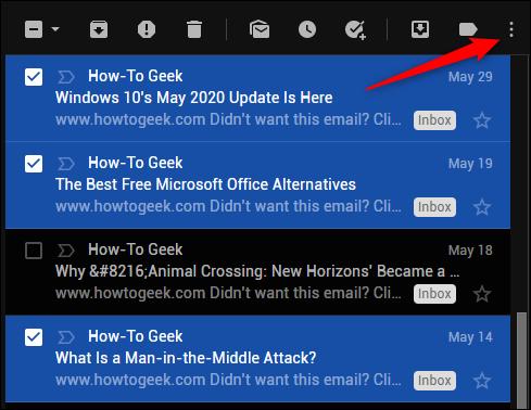 ارسال ایمیلها