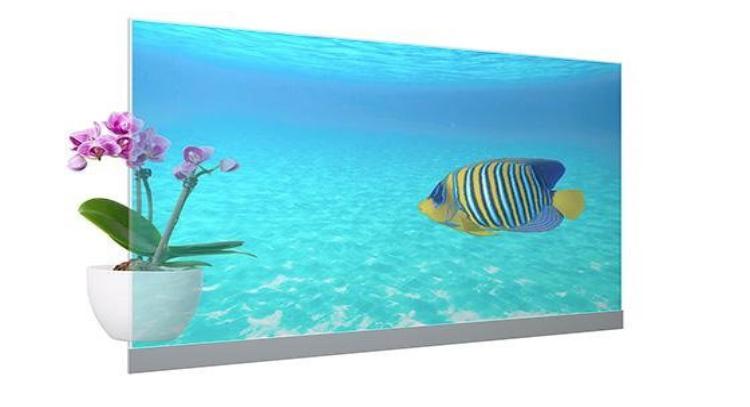 عرضه اولین نمایشگر OLED شفاف پاناسونیک با پنلهای 55 اینچی ساخت LG