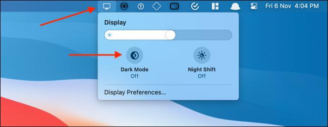 فعال کردن قابلیت Dark Mode