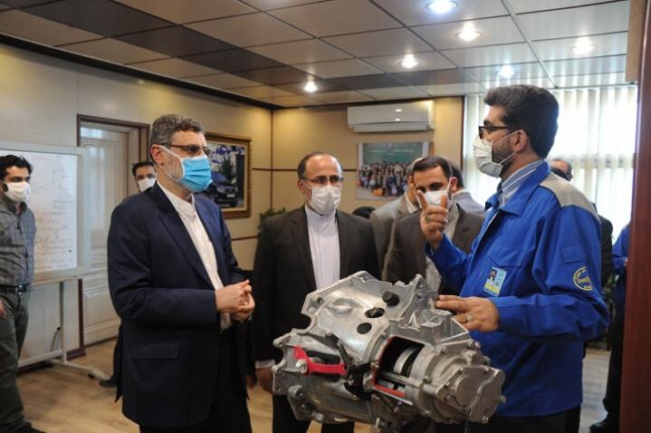 گیربکس شش سرعته ایران خودرو