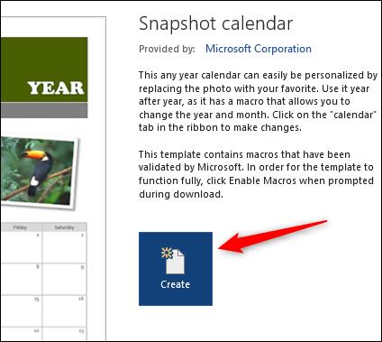 ایجاد تقویم در نرمافزار