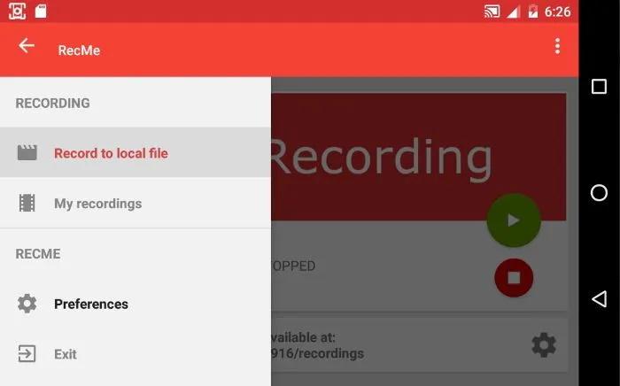 اپلیکیشنهای اندرویدی ضبط صفحهنمایش