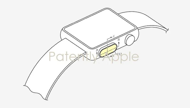 پتنت جدید اپل به Touch ID و دوربین تعبیه شده در زیر نمایشگر اپل واچ اشاره دارد