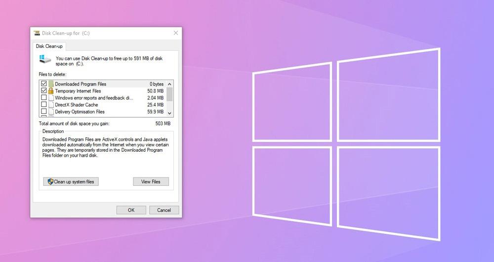 پاک سازی و افزایش حجم درایو C در ویندوز 10